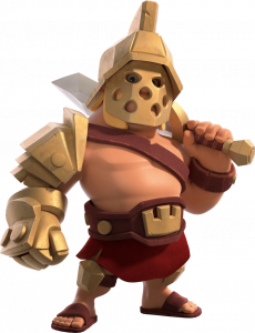 Skin Rei Gladiador - Clash of Clans