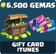 Comprar 6.500 Gemas Clash of Clans
