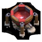 Fábrica de Feitiços sombrios nível 1 - Clash of Clans