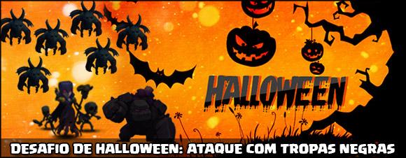 Desafio de Halloween - Tropas Negras