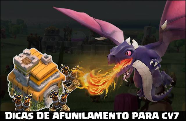 Afunilamento Dragões CV7