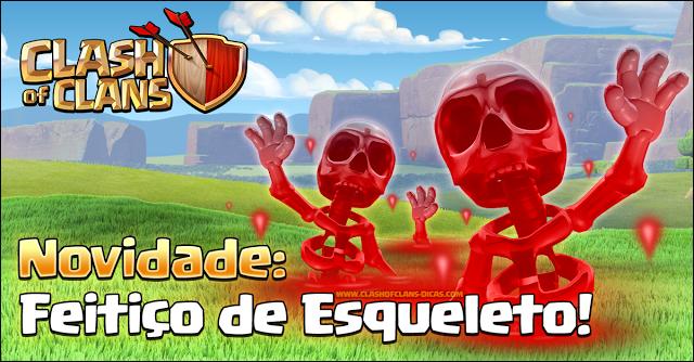 Feitiço de Esqueleto - Clash of Clans