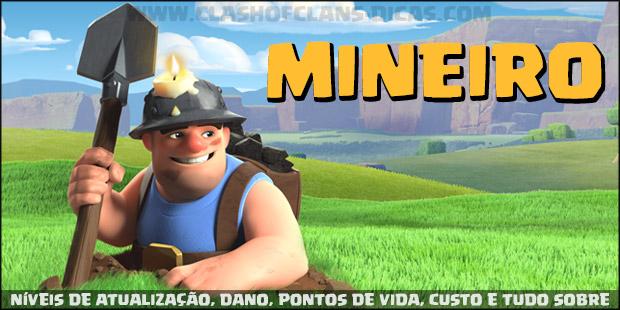 Mineiro: Níveis de atualizações, Wiki e informações