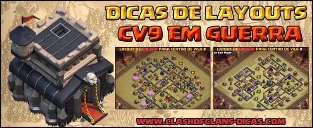 Layouts para CV9 de Guerra