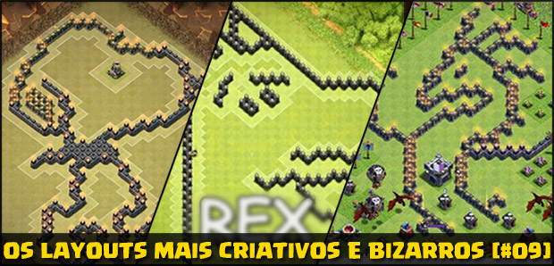 Insane bases Clash of Clans Layouts