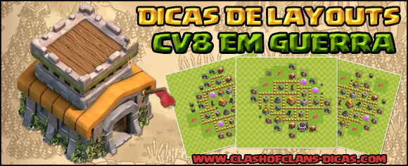 TH8 layout War - Clash of Clans