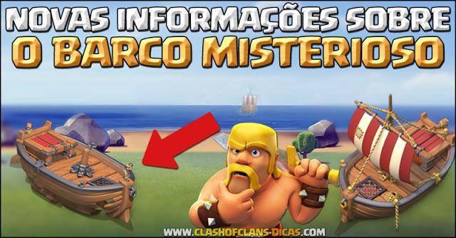 Vazamento informações Barco misterioso