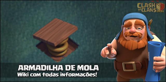 Armadilha de mola - Wiki Base do Construtor