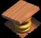 Armadilha de mola nível 2 Base do Construtor