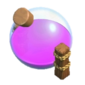 Depósito de Elixir Nível 7 - Base do Construtor Clash of Clans