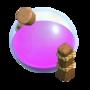 Depósito de Elixir Nível 8 - Base do Construtor Clash of Clans