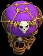 Balão de Ossos nível 13 ao 16 - Clash of Clans
