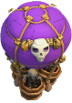 Balão de Ossos nível 9 ao 12 - Clash of Clans
