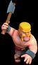 Bárbaro Furioso nível 1 ao 4 - Clash of Clans