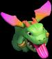 Bebê Dragão da Base do Construtor nível 15 ao 16 - Clash of Clans