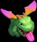 Bebê Dragão da Base do Construtor nível 12 ao 14 - Clash of Clans
