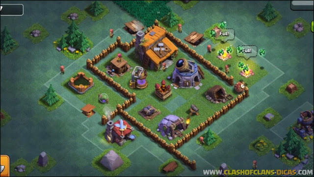 Layout BH/CC 3 no Clash of Clans