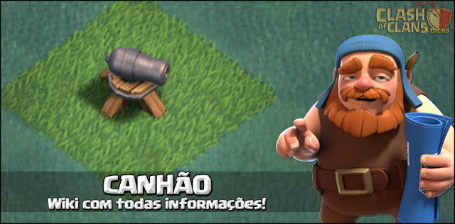 Canhão - Wiki Base do Construtor Clash of Clans