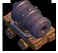 Carrinho de Canhão nível 9 ao 12 - Clash of Clans