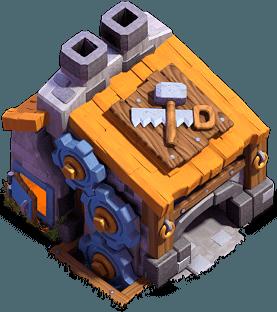 Casa do Construtor nível 9 - Clash of Clans Base do Construtor