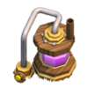 Coletor de Elixir nível 1 - Base do Construtor