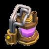Coletor de Elixir nível 3 - Base do Construtor