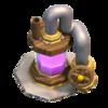 Coletor de Elixir nível 5 - Base do Construtor