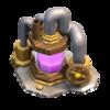Coletor de Elixir nível 6 - Base do Construtor