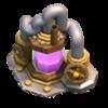 Coletor de Elixir nível 8 - Base do Construtor