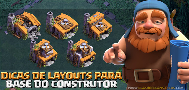 Layouts Base do Construtor Clash of Clans