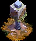 Esmagador nível 2 - Base do Construtor do Clash of Clans