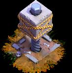 Esmagador nível 3 - Base do Construtor do Clash of Clans
