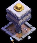 Esmagador nível 5 - Base do Construtor do Clash of Clans