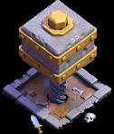 Esmagador nível 6 - Base do Construtor do Clash of Clans