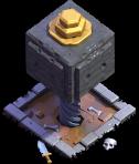 Esmagador nível 7 - Base do Construtor do Clash of Clans