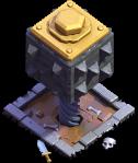 Esmagador nível 8 - Base do Construtor do Clash of Clans