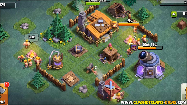 Layout BH/CC 2 no Clash of Clans