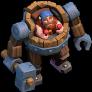 Maquina de Batalha nível 1 ao 9 - Clash of Clans