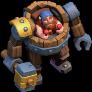 Maquina de Batalha nível 20 ao 25 - Clash of Clans