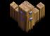 Muros nível 3 - Base do Construtor do Clash of Clans