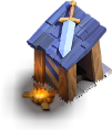 Posto de Guarda nível 1 - Base do Construtor do Clash of Clans