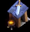 Posto de Guarda nível 2 - Base do Construtor do Clash of Clans