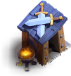 Posto de Guarda nível 3 - Base do Construtor do Clash of Clans