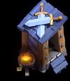 Posto de Guarda nível 4 - Base do Construtor do Clash of Clans