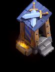Posto de Guarda nível 6 - Base do Construtor do Clash of Clans