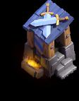 Posto de Guarda nível 7 - Base do Construtor do Clash of Clans