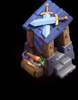 Posto de Guarda nível 8 - Base do Construtor do Clash of Clans