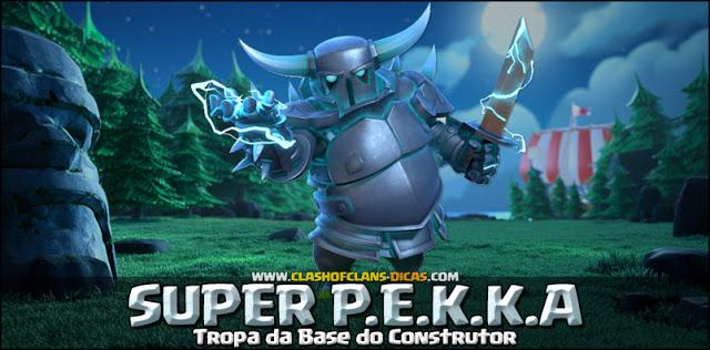 Super PEKKA - Níveis de atualização, Wiki e Informações