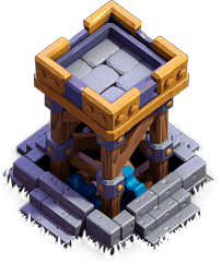Torre Arqueira - Base do Construtor do Clash of Clans