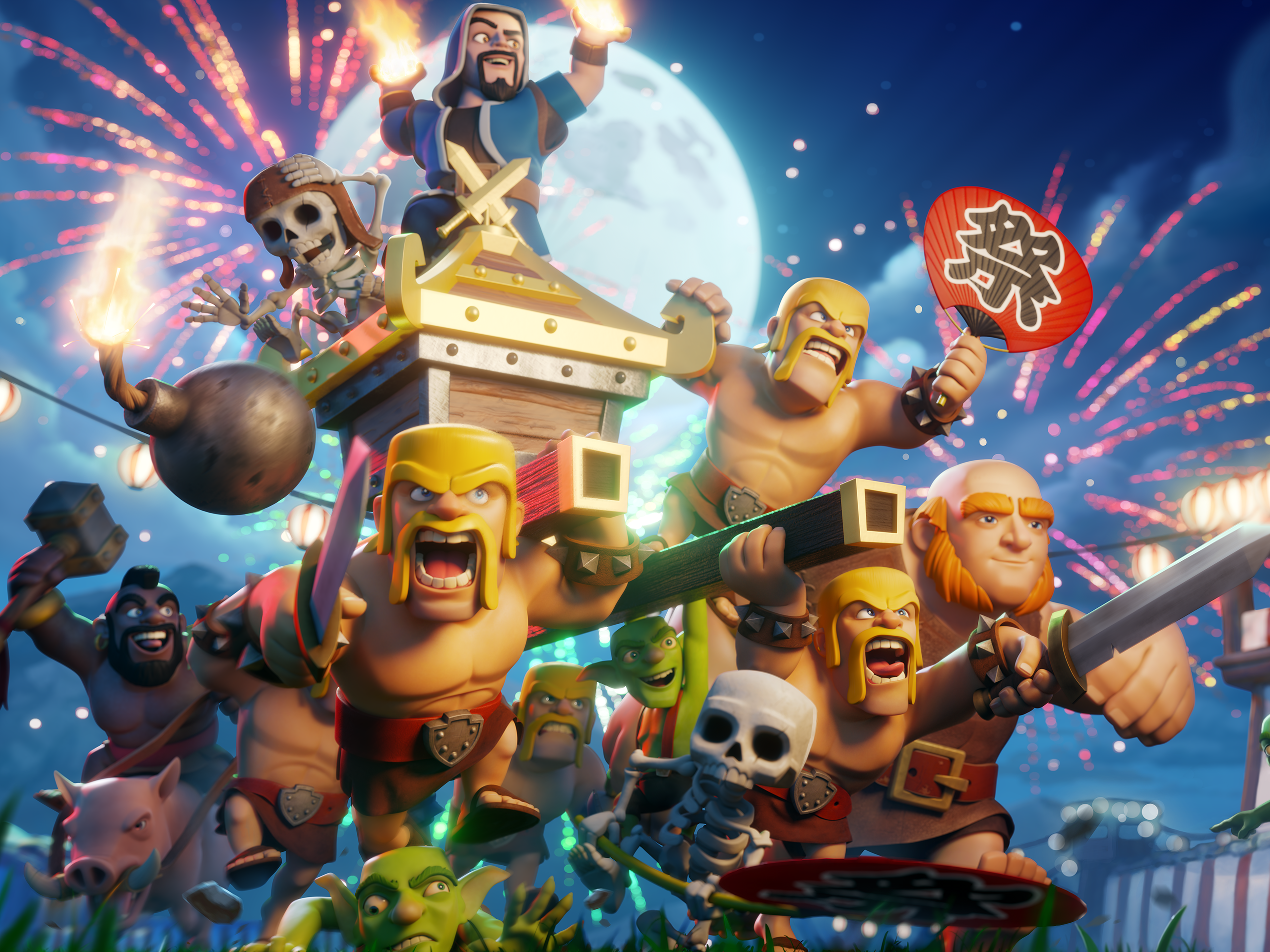 Wallpaper Especial de 5 anos de Clash of Clans - Clash of ...